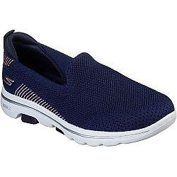 Skechers GO WALK 5 tmavo modrá 39 - Dámske slip-on tenisky