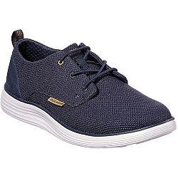 Skechers STATUS tmavo modrá 45 - Pánske nízke tenisky