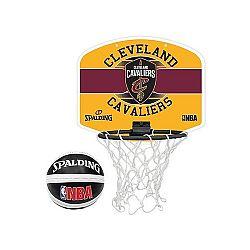 Spalding NBA MINIBOARD CLEVELANS CAVALIERS žltá NS - Basketbalový kôš