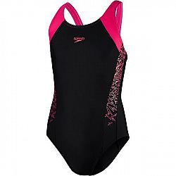 Speedo BOOM SPLICE MUSCLEBACK  140 - Dievčenské plavky