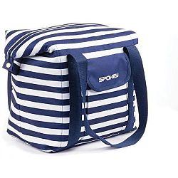 Spokey SAN REMO fialová NS - Plážová taška