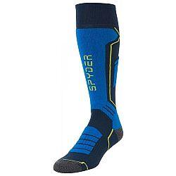 Spyder VELOCITY čierna L - Pánske ponožky