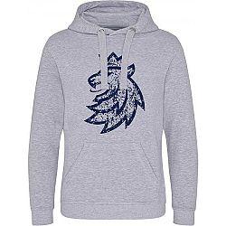 Střída KLOKANKA LOGO LEV PATINA tmavo modrá XL - Dámska mikina