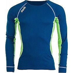 Swix STARX BODYW LS MEN zelená S - Pánske športové tričko