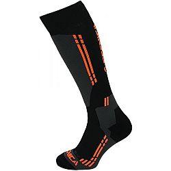Tecnica COMPETITION SKI SOCKS čierna 35-38 - Lyžiarske ponožky