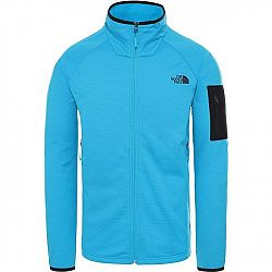The North Face BOROD FULL ZIP ACOUSTICBL modrá L - Pánska mikina