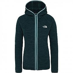 The North Face NIKSTER FULL ZIP H vínová L - Dámska mikina