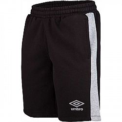 Umbro CONTRAST PANEL FLEECE SHORT čierna XL - Pánske šortky