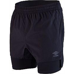 Umbro ELITE SILO TRAINING HYBRID WOVEN SHORT čierna M - Pánske športové šortky
