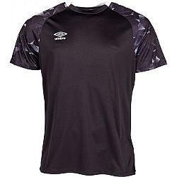 Umbro FRAGMENT JERSEY SS čierna L - Pánske športové tričko