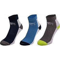 Umbro SPORT SOCKS 3P zelená 32-35 - Detské  ponožky