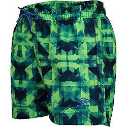 Umbro ZAZO zelená 140-146 - Chlapčenské kúpacie šortky