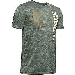 Under Armour CROSSFADE TEE zelená XL - Detské tričko