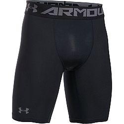 Under Armour HG ARMOUR 2.0 LONG SHORT tmavo sivá XL - Pánske  kompresné šortky