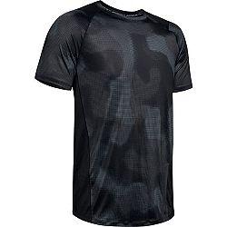 Under Armour MK1 SS PRINTED čierna L - Pánske tričko