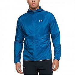 Under Armour QUALIFIER STORM PACKABLE JACKET modrá S - Pánska bunda