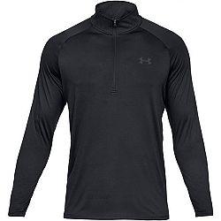 Under Armour TECH 2.0 1/2 ZIP modrá XXL - Pánske tričko s dlhým rukávom