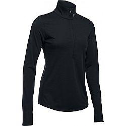 Under Armour THREADBORNE STREAKER HLF ZP čierna XL - Dámske funkčné tričko