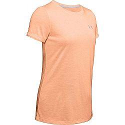 Under Armour THREADBORNE TRAIN TWIST oranžová L - Dámske tričko