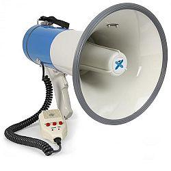 Vexus MEG060, megafón, 60 W, funkcia nahrávania, siréna, USB, SD, AUX, vrátane popruhu