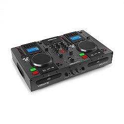 Vonyx CDJ450, DJ Workstation, 2 CD prehrávač BT, 2 USB, 2-kanálový mixér