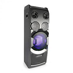 Vonyx PLAY1000 párty reproduktor, USB BT, AUX vstup, vstupy na mikrofón a gitaru