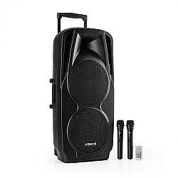 Vonyx SPX-PA9210 sound systém 2x10'' USB, SD/MMC bluetooth nabíjacia batéria 4 - 6h