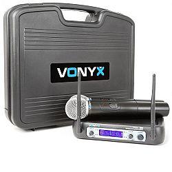 Vonyx WM512, 2-kanálový VHF vysielací systém, vrátane prenosného kufra