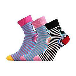 Voxx TLAMÍK čierna 17-19 - Dievčenské ponožky
