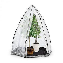 Waldbeck Greenshelter S, skleník na prezimovanie rastlín, 130 x 150 cm, oceľové tyče Ø 25 mm, PVC
