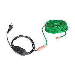 Waldbeck Greenwire Select 12, výhrevný kábel na rastliny, 12 m, s termostatom, IP68