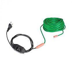 Waldbeck Greenwire Select 20, výhrevný kábel na rastliny, 20 m, s termostatom, IP68