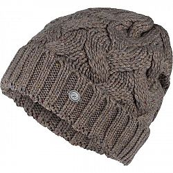 Willard ALPAKA hnedá UNI - Dámska pletená čiapka