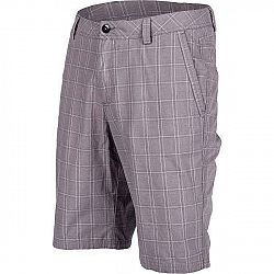 Willard ASSAN šedá XL - Pánske plátené šortky