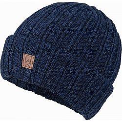 Willard CANAR tmavo modrá UNI - Pánska pletená čiapka