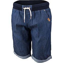 Willard KSENIA modrá 42 - Dámske šortky s džínsovým vzhľadom