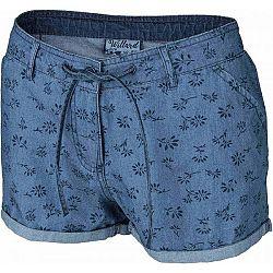 Willard MAGNOLIA modrá 38 - Dámske šortky