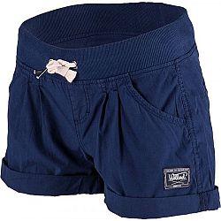 Willard MIREN tmavo modrá 44 - Dámske  plátené šortky