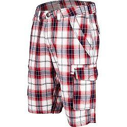 Willard RUDA červená L - Pánske plátenné šortky