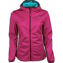 Willard TIDA ružová M - Softshellová bunda