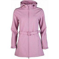Willard TIHANA svetlo ružová M - Dámska softshellová bunda