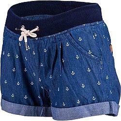 Willard TONJA tmavo modrá 42 - Dámske šortky s džínsovým vzhľadom