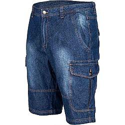 Willard VOREN tmavo modrá XXL - Pánske džínsové šortky