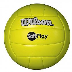 Wilson SOFT PLAY VOLLEYBALL modrá  - Volejbalová lopta