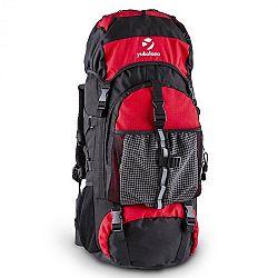 Yukatana Thurwieser 2015 RD, turistický ruksak s objemom 55l, nylón, odolný voči vode, červený